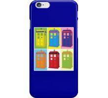 Warhol Tardis iPhone Case/Skin