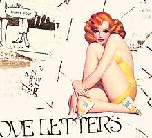 love letters, 2011 by Thelma Van Rensburg