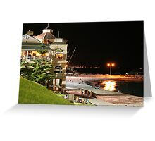 Cottesloe Evening Greeting Card