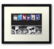 The Lost Picture Show Framed Print