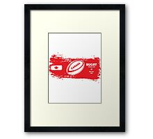 Canada Rugby World Cup Supporters Framed Print