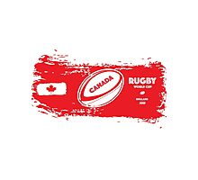 Canada Rugby World Cup Supporters Photographic Print
