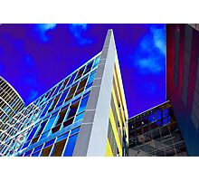 Rainbow Towers Photographic Print