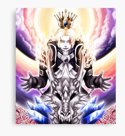 The Light King - colour Canvas Print