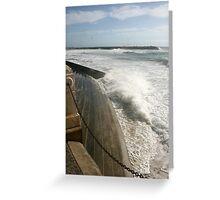 Ocean Rush Greeting Card