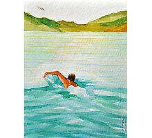 swimmer Photographic Print