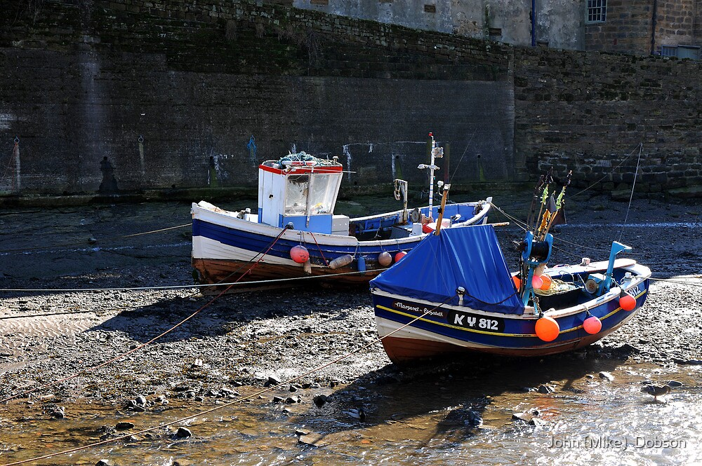 Staithes- North Yorkshire Coast by John (Mike)  Dobson