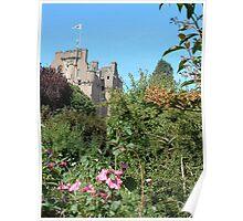 Crathes Castle Poster