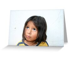 A Little Mexican Beauty (3) Greeting Card