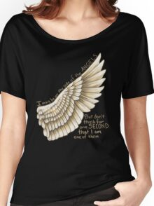 Side of the Angels Women's Relaxed Fit T-Shirt