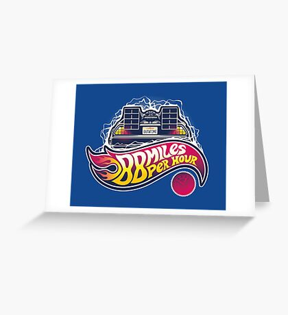 Hot Wheels to the Future Greeting Card