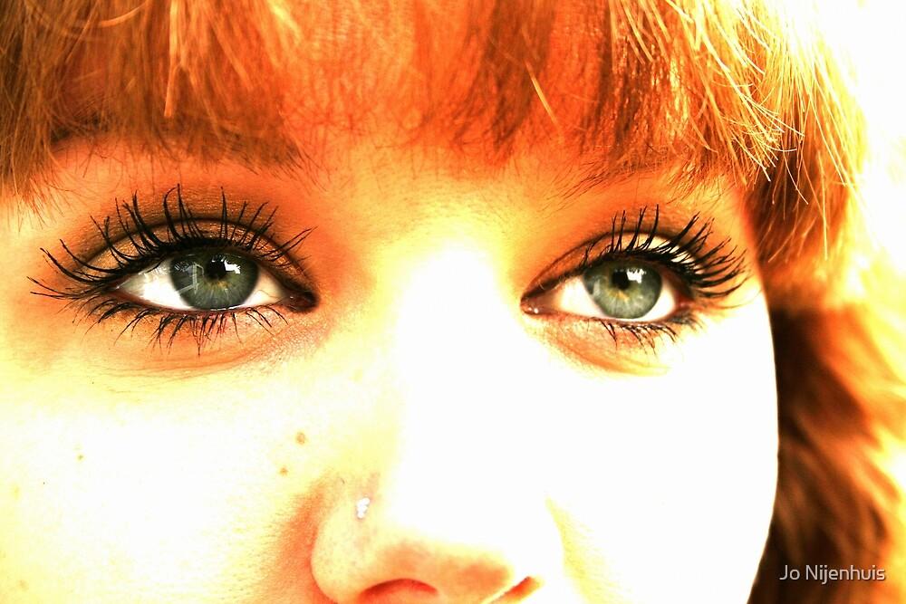 Eyes the Mirror of the Soul by Jo Nijenhuis
