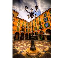Spanish Street Lamp Photographic Print
