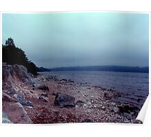 Shore of Loch Ness Poster