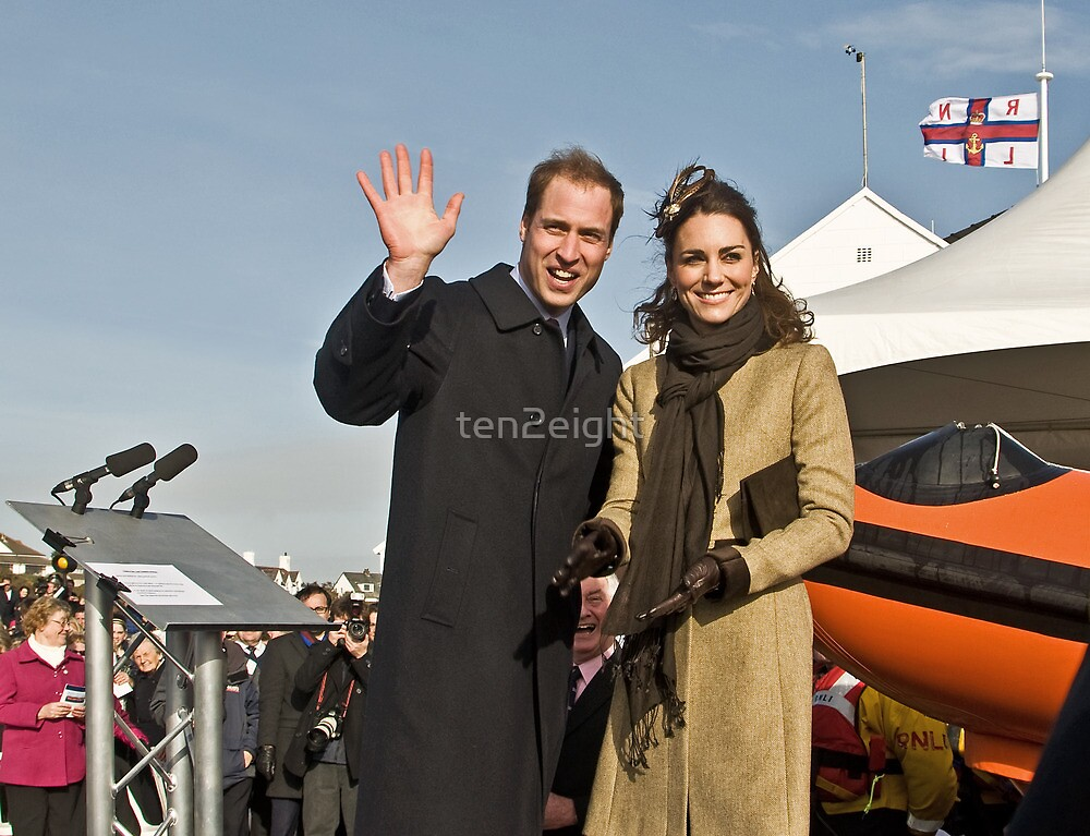 Prince William and Catherine by ten2eight