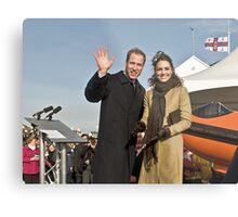 Prince William and Catherine Metal Print