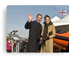 Prince William and Catherine Canvas Print