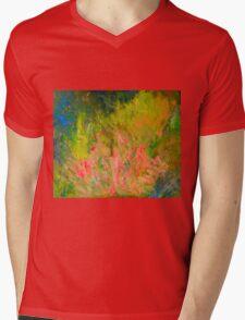 My garden in spring - the diosmas flourish - Kilmore East VIC  Mens V-Neck T-Shirt