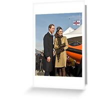 Prince William and Catherine No. 3. Greeting Card