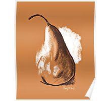 Fresh Pear Poster
