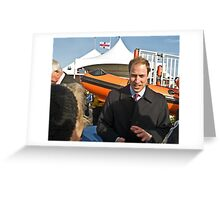 "Prince William meets ""almaalice"" Greeting Card"