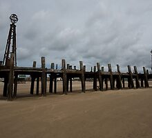 LYTHAM OLD PIER, BLACKPOOL 2 by Phil  WEBB