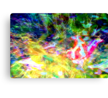 Butterfly of hope: breakthrough Canvas Print