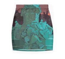 Garden statue Rome Mini Skirt