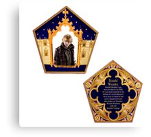 Chocolate Frog Cards ~ ronald weasley Canvas Print