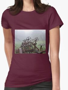 WHEELS Womens Fitted T-Shirt