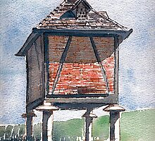 PIGEONNIER IN SOUTWEST FRANCE by Ray  Johnstone