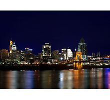 Cincinnati SkyLine 4 Photographic Print