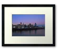 Cincinnati SkyLine 5 Framed Print