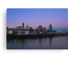 Cincinnati SkyLine 5 Canvas Print