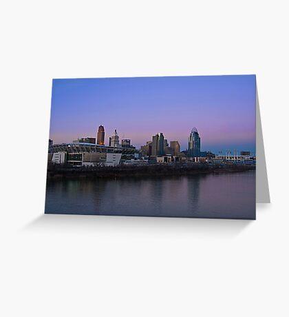 Cincinnati SkyLine 5 Greeting Card