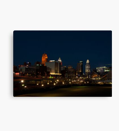 Cincinnati SkyLine 6 Canvas Print