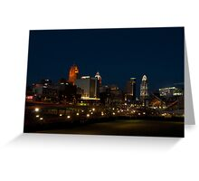 Cincinnati SkyLine 6 Greeting Card