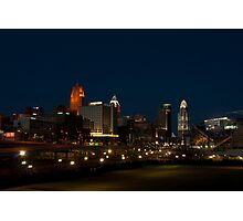 Cincinnati SkyLine 6 Photographic Print