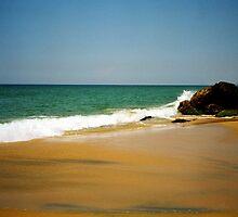 Kovalam beach by Jasna