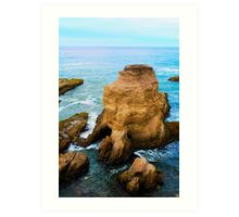 Sea Caves Art Print