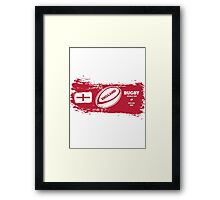 England Rugby World Cup Supporters Framed Print