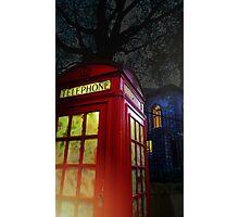 London Tardis Photographic Print