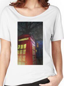 London Tardis Women's Relaxed Fit T-Shirt