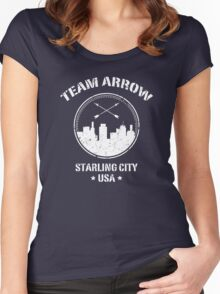Team Arrow Women's Fitted Scoop T-Shirt