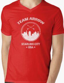 Team Arrow Mens V-Neck T-Shirt