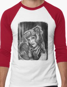 "MsTruise as ""Boxer Girl"" Men's Baseball ¾ T-Shirt"