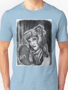 "MsTruise as ""Boxer Girl"" Unisex T-Shirt"
