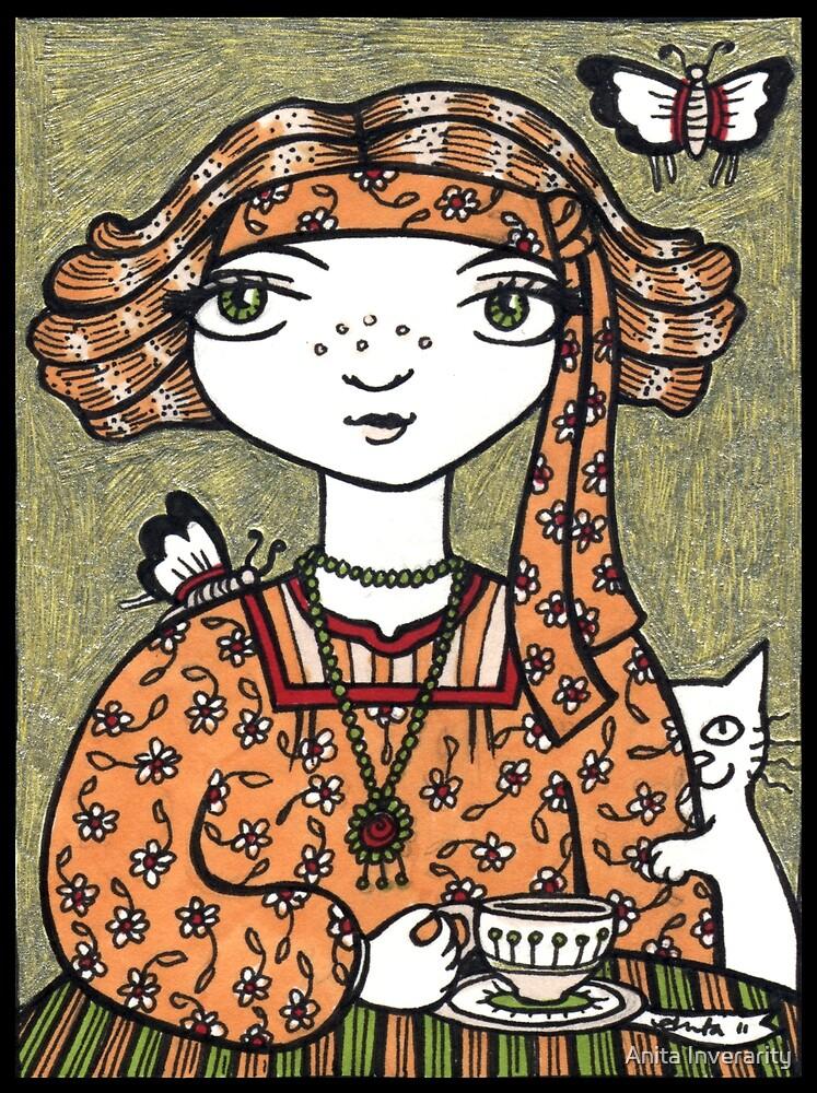 Tessa (Tea Leaf Reader) by Anita Inverarity