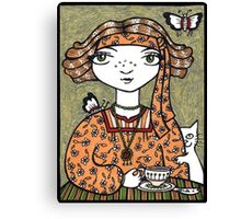 Tessa (Tea Leaf Reader) Canvas Print