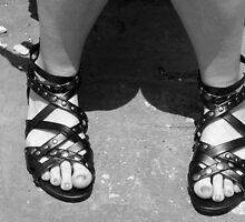 Gladiator Feet by Karlientjie